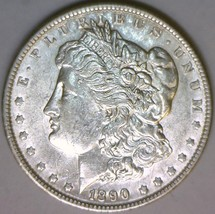 1890 Morgan Dollar;  Choice AU-Unc. - $49.49