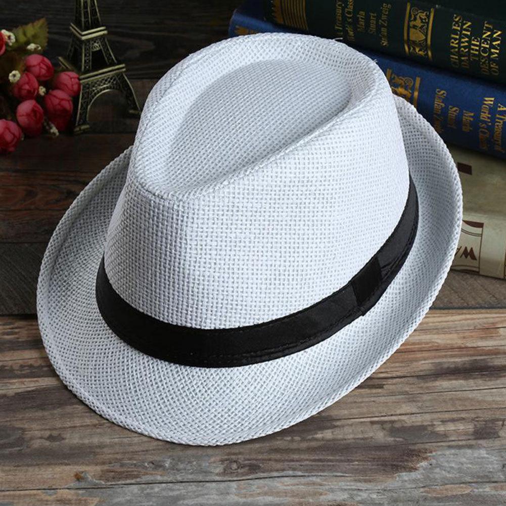 grass Fashion sun hats Foldable womens sunhats women's hat Summer Beach Floppy C image 2