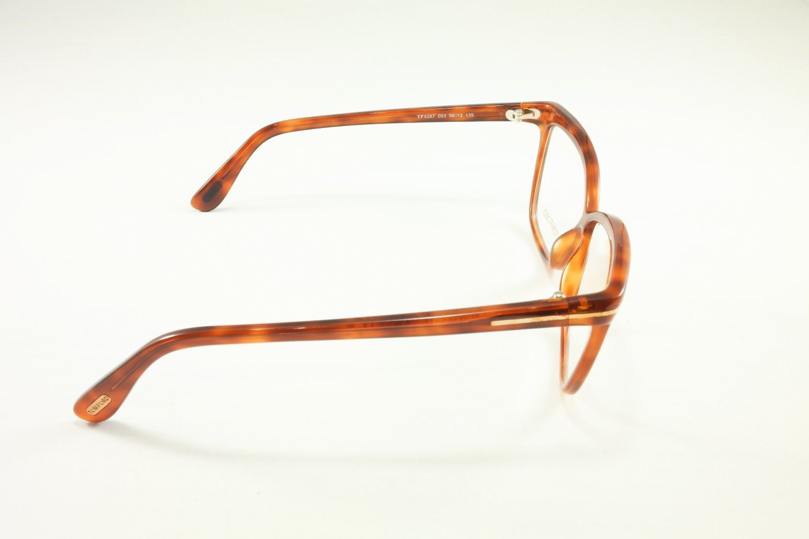 48cdcdff9cf Tom Ford Authentic Eyeglasses Frame TF5267 053 Light Havana Brown Italy Made