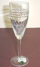 Waterford LAUREL Champagne Flute Crystal Made in Ireland #117888 New - $54.90
