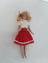 Vintage 1963 Skooter Doll Original Mattel Platinum Blonde  - $49.50