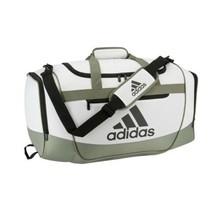 ORBIT GREY/LEGACY GRN/BLK adidas Defender III Medium Duffle Bag (D) - $168.29