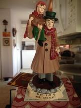 Vintage 1993 A Christmas Carol Charles Dickens Bob Cratchit and Tiny Tim... - $18.99