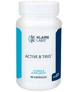 Klaire Labs Active B Trio - B12 as Methylcobalamin, Metafolin Folate & B... - $29.85
