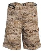 Trendy Apparel Shop Kid's US Soldier Digital Camouflage Tactical Shorts ... - $27.99