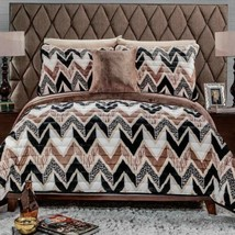 Mali Animal Print Flannel Extra Soft Blanket With Sherpa Warm 4 Pcs Full Size - $84.14