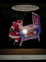 Vintage PINBALL WONDER Hallmark Ornament From 1996 QLX7451 MIB Lights & ... - $44.50