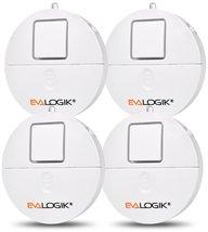 Window Alarm 4 Packs - Loud 120dB Alarm and Vibration Sensors Compatible... - $25.77