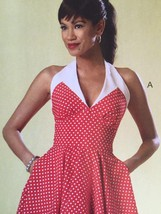Butterick Sewing Pattern 6049 Ladies Misses Dress Size 6-14 New - $17.14