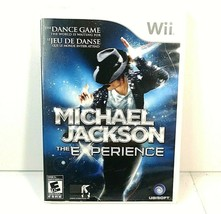 Michael Jackson - The Experience Nintendo Wii Complete 2010 Ubisoft Triu... - $17.45