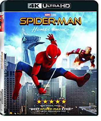 Spider-Man: Homecoming (4K Ultra HD + Blu-ray) (2017)