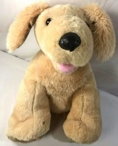 "Build a Bear Workshop Tan and Brown Puppy Dog stuffed/plush - 12"" - $29.69"