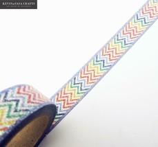 KEVIN&SASA CRAFTS® Glitter Washi Tape Colors Stationery Decorative Tape - $4.36