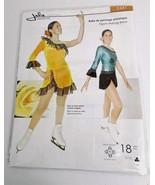 Jalie Figure Skating Pattern 2441 One Sleeve Dress 18 Sizes Uncut - $25.00