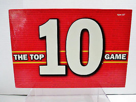USAopoly Trivia Board Game The Top 10 Game Take Trivia To The Limit - $23.75