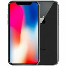 Apple iPhone X 256GB Mobile Smart iOS phone Space Gray Black Unlocked A1901 A image 3