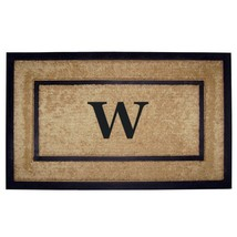 Nedia Home Single Picture Black Frame with Coir Rubber Border Dirt Buste... - $64.66