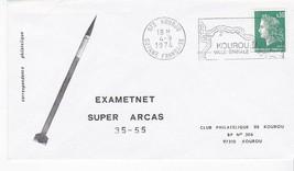 EXAMETNET SUPER ARCAS ROCKET #35-55 GUYANNE FRANCAISE 4/9/1974 - $1.78