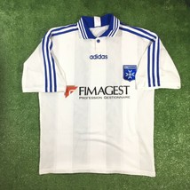 Mens adidas Auxerre Home 1997 Camisa Trikot Maillot Maglia Jersey Football - £44.85 GBP