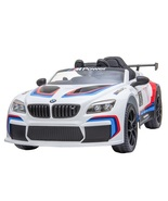 White BMW M6 GT3 12V Ride On Car Remote Control Kids Electric Toy Car Present  - $295.00