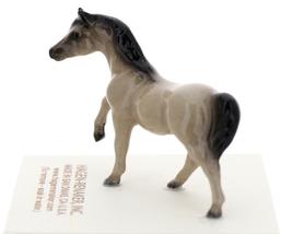 Hagen-Renaker Miniature Ceramic Horse Figurine Tiny Gray Mare image 2