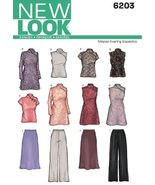 New Look Sewing Pattern 6203 Misses Special Occasion Dresses, Size A (8-... - $11.27