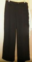 Womens Size 10 Adrianna Papell Lightweight BLACK Dress Pants - No Pockets - $10.84