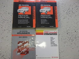 2001 Toyota 4Runner 4 Runner Service Repair Shop Manual Set Feo Factory - $406.99