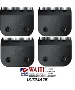 4-WAHL ULTIMATE COMPETITION 40 BLADE Pet Grooming Fit Most Oster,Andis C... - $111.28