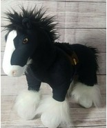 Disney Pixar Brave Plush ANGUS Black Horse Stuffed Animal Merida's Clyde... - $19.39