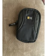 CASE LOGIC Small Black Zip Around Camera Case with Belt Strap - $9.89