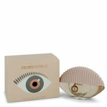 Kenzo World by Kenzo 1.7 oz 50 ml EDT Spray Perfume for Women New in Box - $37.95