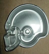 VINTAGE WILTON ALUMINUM FOOTBALL HELMET CAKE PAN MOLD  - $15.99