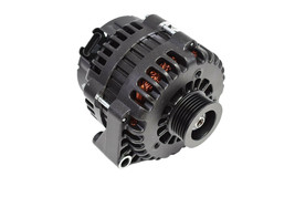 GM AD244 Style High Output 220 Amp Alternator Black 4 Pin LS image 1