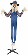 Halloween Life-size Haunted Animated Scarecrow Prop Scary Eyes Light Up ... - €74,43 EUR