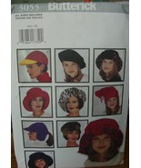 Sewing Pattern Hats All Sizes - $4.99