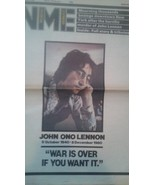 John Lennon Vintage Newspapers from December 9 1980-  6  Different Issues - £29.51 GBP