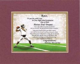 Personalized Touching and Heartfelt Poem for Graduations - To You Son, W... - $22.72