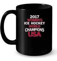 2017 Womens World Champions USA Ice Hockey Ceramic Mug - ₹995.07 INR+