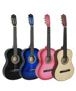 """38"""" New Beginners Acoustic Guitar With Guitar Case, Strap, Tuner and Pick - $79.99"""