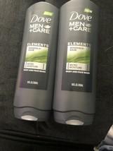 2 Dove Men+Care Elements Minerals & Sage Micro Moisture Face And Body Wa... - $19.79