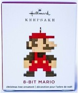 Hallmark  8-Bit Mario - Nintendo - Miniature Ornament 2020 - $10.88
