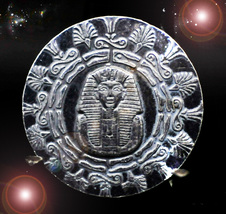 HAUNTED COIN ANCIENT KING'S LUCK COIN EXTREME GOOD FORTUNE MAGICK OOAK MAGICK  - $9,337.77