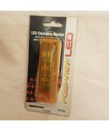 ROADPRO RP-1274A 3.75x1.25 LED Sealed Light Amber - $9.85
