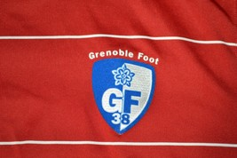 GRENOBLE GF 38 Soccer SHIRT Jersey France FC Football Club Nike L Fit Dry - $46.71