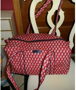 Vera bradley small duffel bag in retired Red Bandana Paisley Pattern - $49.00