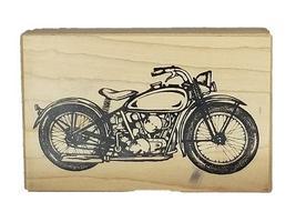 Vintage PSX 1999 Motorcycle Rubber Stamp #G-2107