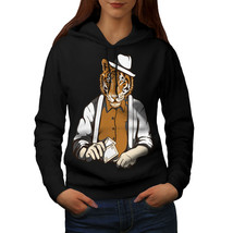 Tiger Poker Cool Gangster Sweatshirt Hoody Big Cat Mask Women Hoodie - $21.99+