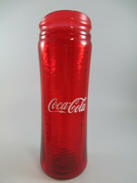 Primary image for Coca Cola 14 oz Chisel Tumbler Red Insulated BPA Free Plastic