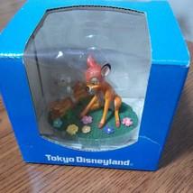 Tokyo Disneyland Bambi & Thumper Mini Table Figure Doll Ornament - $58.41